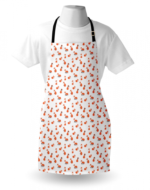 English-Bulldog-Apron-Unisex-Kitchen-Bib-with-Adjustable-Neck-for-Cooking-Baking 縮圖 36
