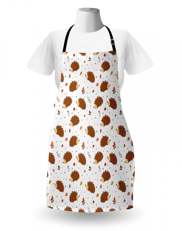 English-Bulldog-Apron-Unisex-Kitchen-Bib-with-Adjustable-Neck-for-Cooking-Baking 縮圖 134