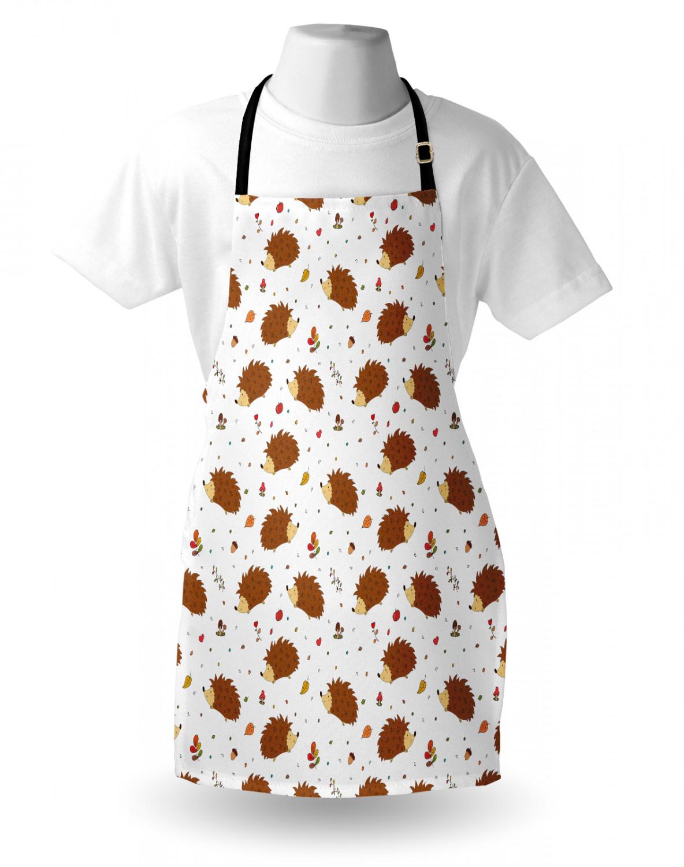 English-Bulldog-Apron-Unisex-Kitchen-Bib-with-Adjustable-Neck-for-Cooking-Baking 縮圖 135