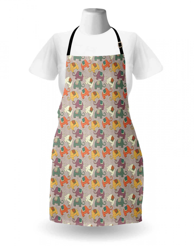 English-Bulldog-Apron-Unisex-Kitchen-Bib-with-Adjustable-Neck-for-Cooking-Baking 縮圖 23
