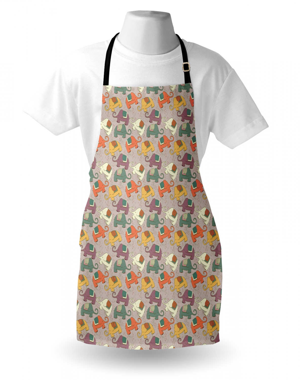 English-Bulldog-Apron-Unisex-Kitchen-Bib-with-Adjustable-Neck-for-Cooking-Baking 縮圖 24