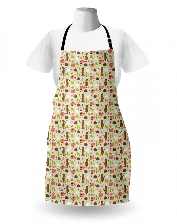 English-Bulldog-Apron-Unisex-Kitchen-Bib-with-Adjustable-Neck-for-Cooking-Baking 縮圖 95