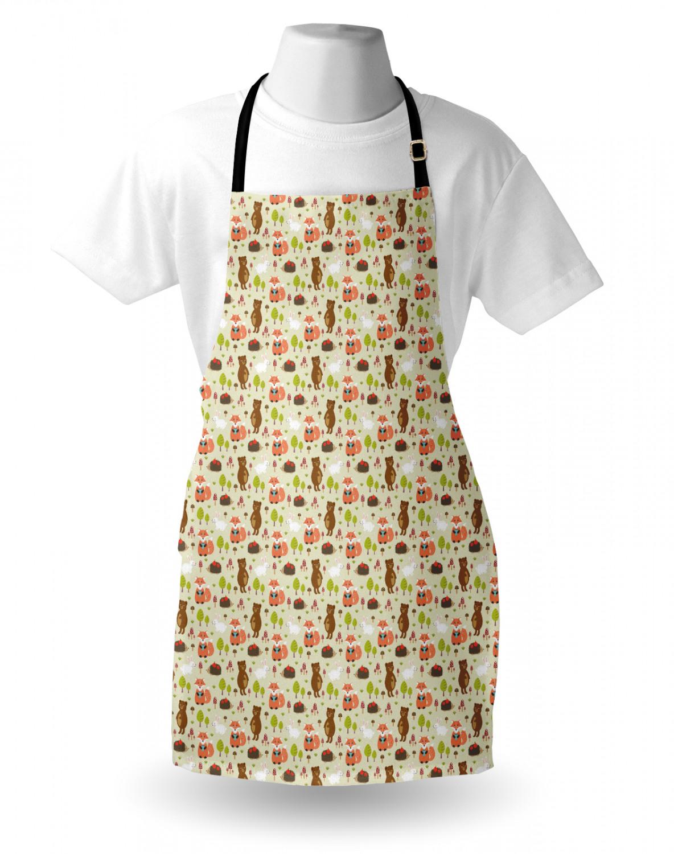English-Bulldog-Apron-Unisex-Kitchen-Bib-with-Adjustable-Neck-for-Cooking-Baking 縮圖 96