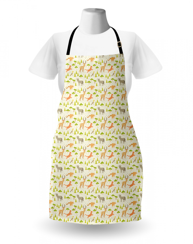 English-Bulldog-Apron-Unisex-Kitchen-Bib-with-Adjustable-Neck-for-Cooking-Baking 縮圖 83