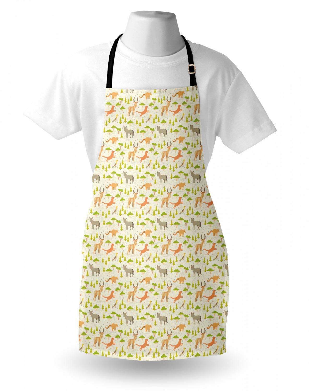 English-Bulldog-Apron-Unisex-Kitchen-Bib-with-Adjustable-Neck-for-Cooking-Baking 縮圖 84