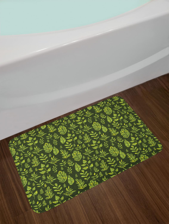 """Sage Bath Mat Bathroom Decor Plush Non-Slip Mat 29.5"""" X 17 ..."""