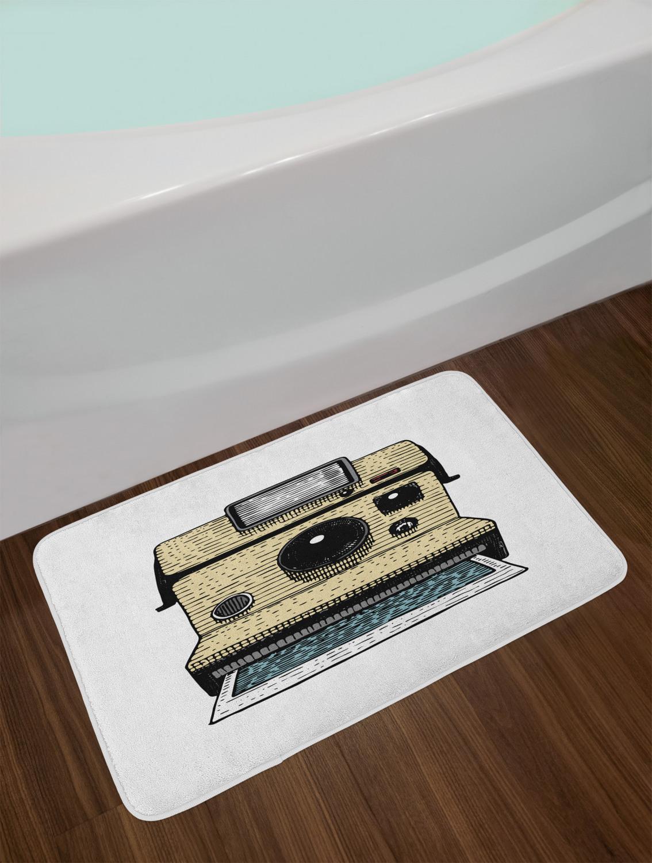 Vintage-Camera-Bath-Mat-Bathroom-Decor-Plush-Non-Slip-Mat-29-5-034-X-17-5-034 thumbnail 36