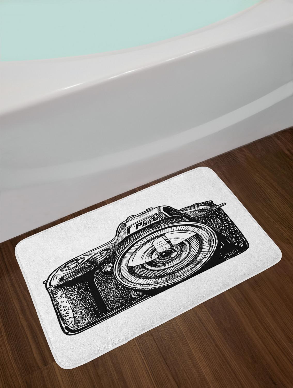 Vintage-Camera-Bath-Mat-Bathroom-Decor-Plush-Non-Slip-Mat-29-5-034-X-17-5-034 thumbnail 20