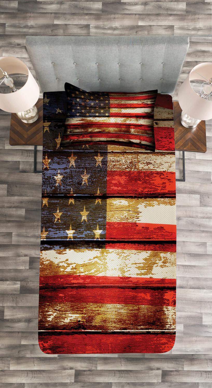 American Flag Bedroom Set