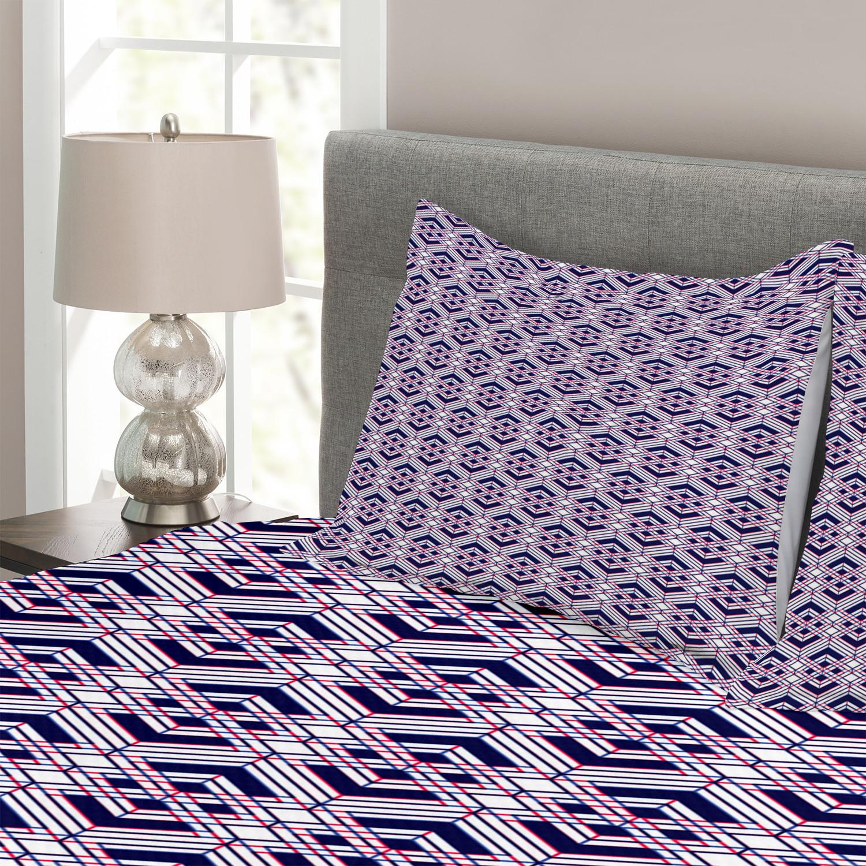 Farbe 3110 Aubergine Bettwäsche Garnitur Uni Mako Satin 200x220 Cm
