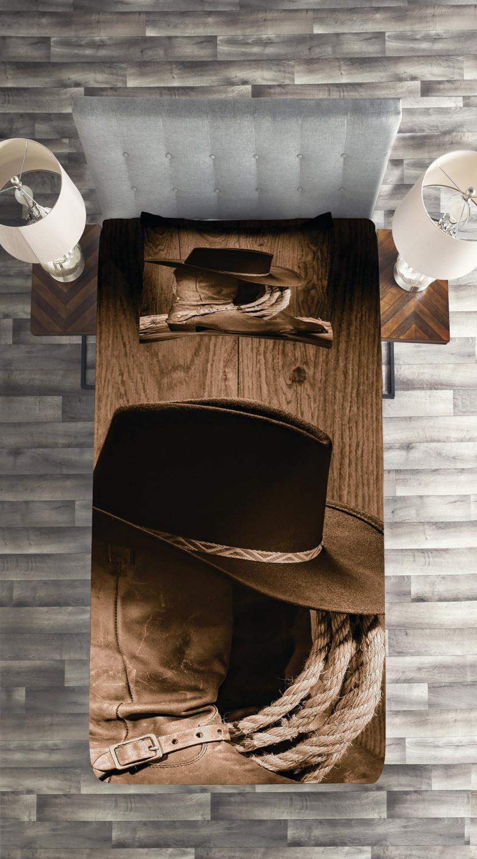 d866e1217e63b Western-Quilted-Coverlet-amp-Pillow-Shams-Set-Wild-