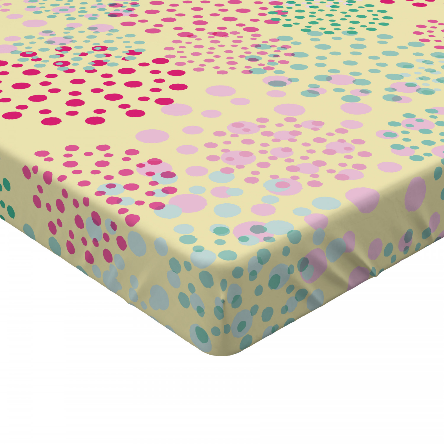 Geek Fitted Sheet Cover with All-Round Elastic Pocket in 4 Sizes