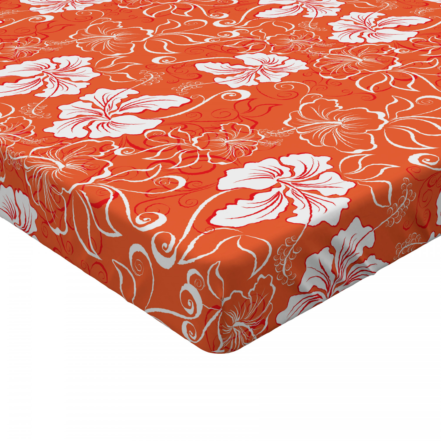 Summer Lemon Fitted Sheet Cover with All-Round Elastic Pocket in 4 Sizes