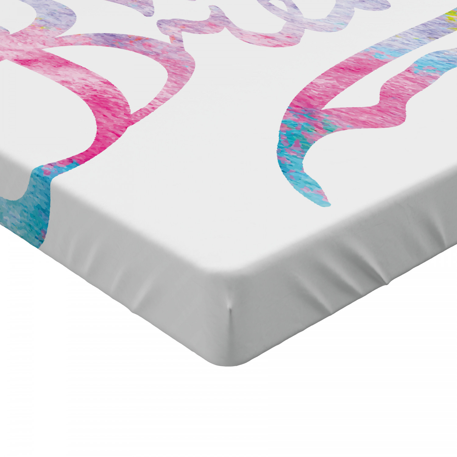 Sweet Dreams Fitted Sheet Cover With All Round Elastic
