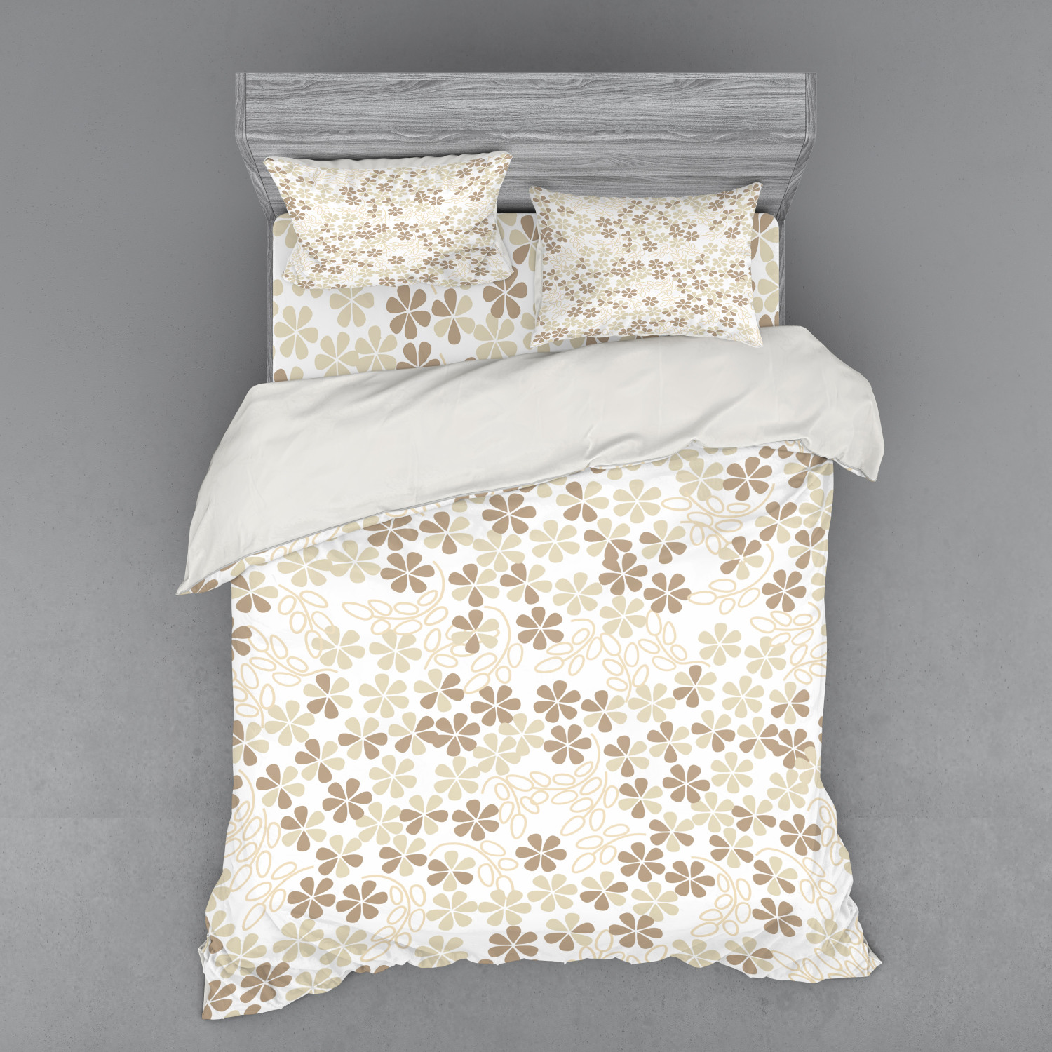 thumbnail 86 - Ambesonne Summer Bedding Set Duvet Cover Sham Fitted Sheet in 3 Sizes