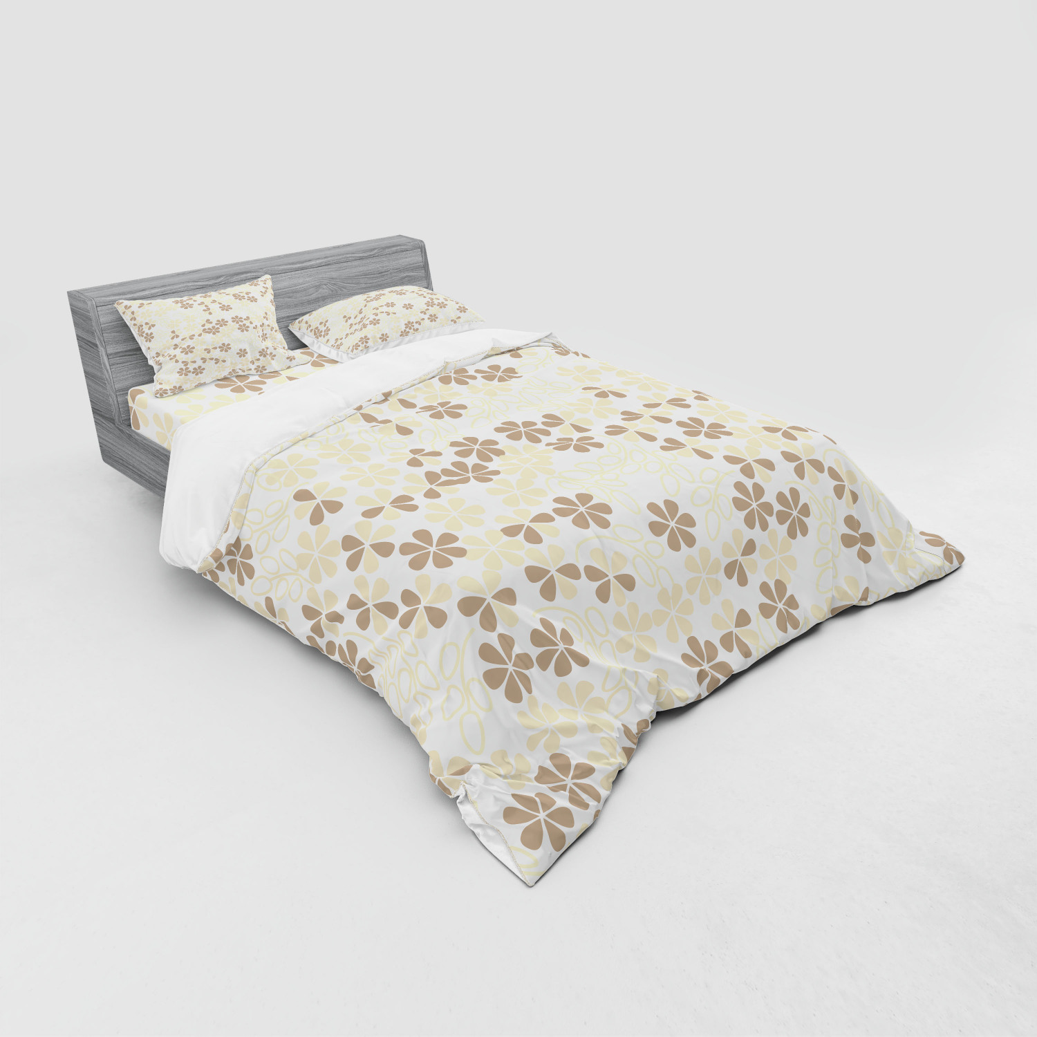 thumbnail 87 - Ambesonne Summer Bedding Set Duvet Cover Sham Fitted Sheet in 3 Sizes
