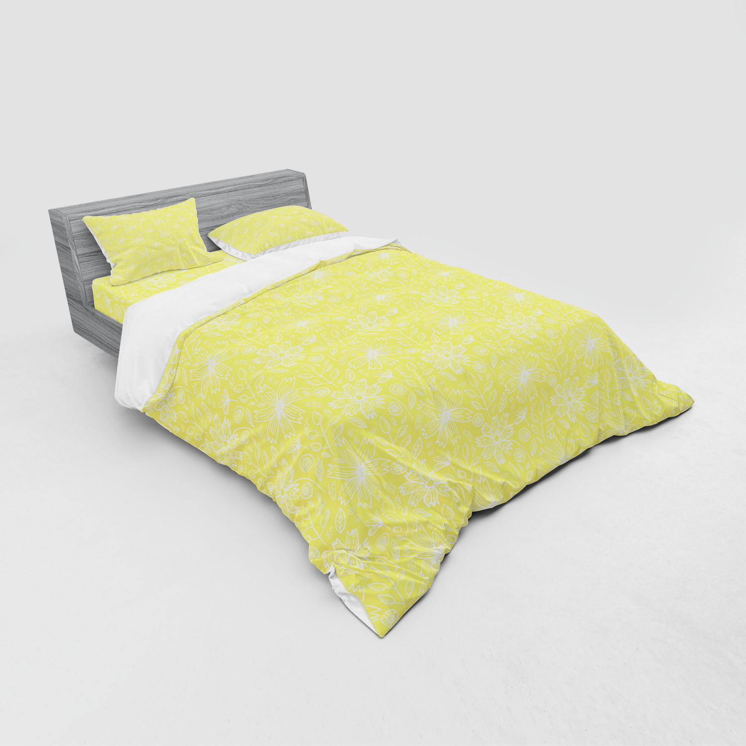 thumbnail 151 - Ambesonne Summer Bedding Set Duvet Cover Sham Fitted Sheet in 3 Sizes