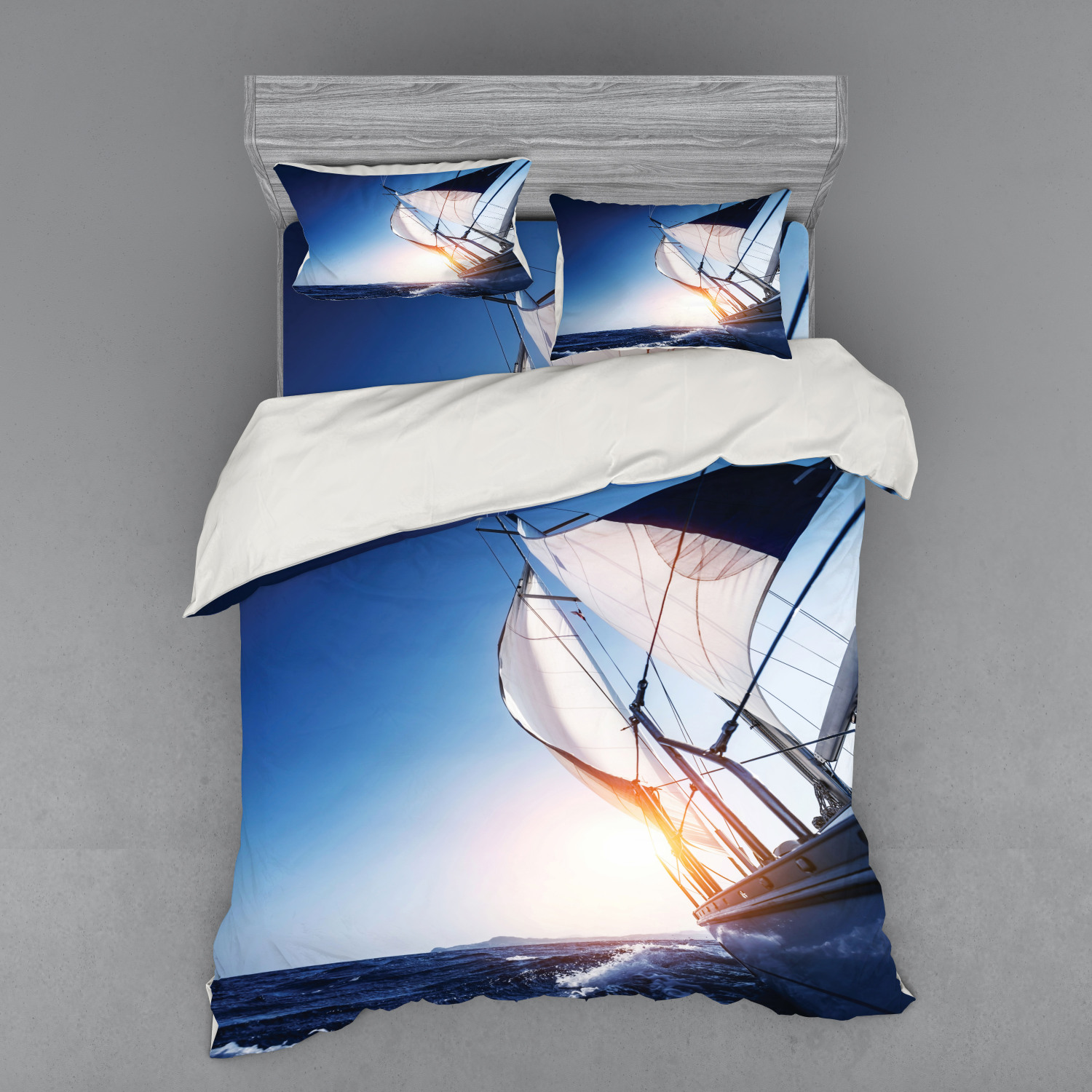 thumbnail 158 - Ambesonne Summer Bedding Set Duvet Cover Sham Fitted Sheet in 3 Sizes