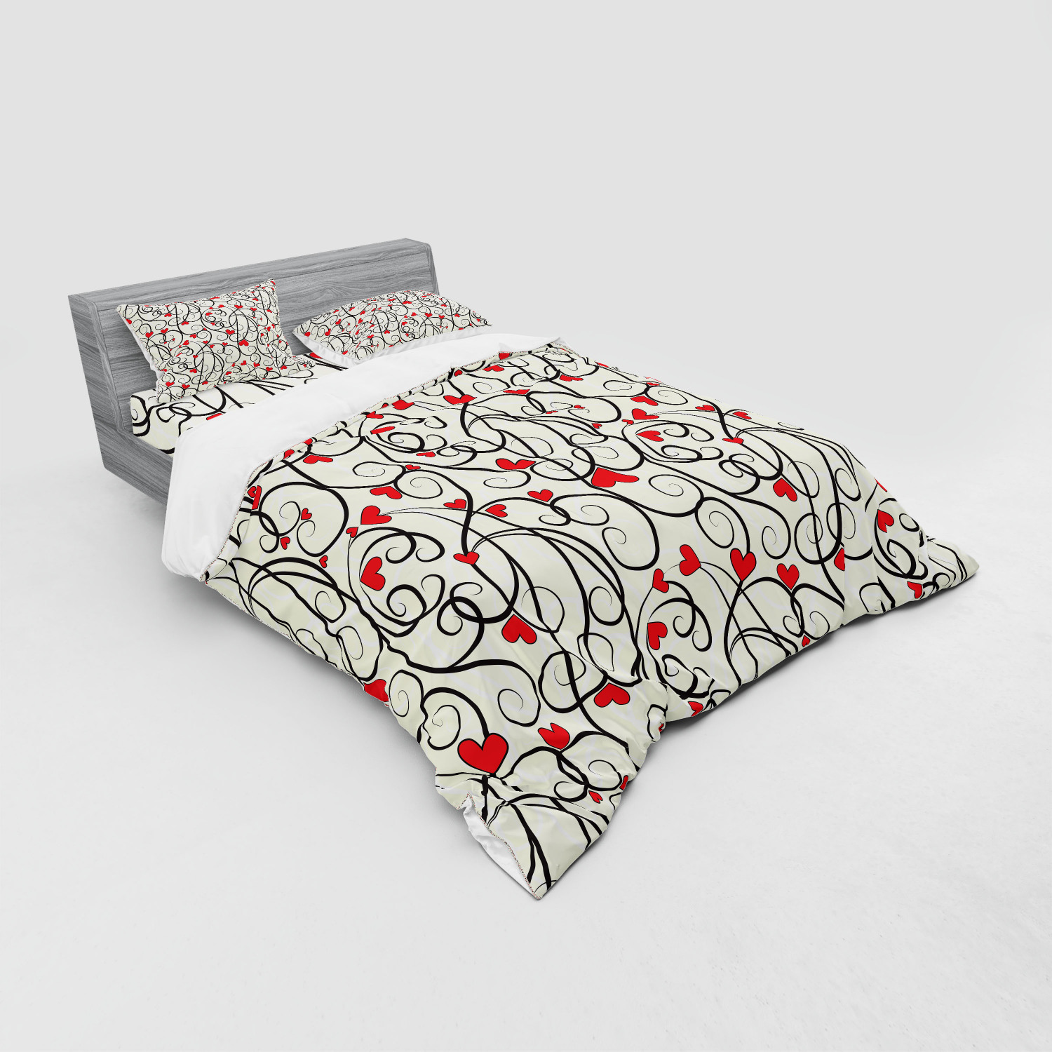 thumbnail 227 - Ambesonne Summer Bedding Set Duvet Cover Sham Fitted Sheet in 3 Sizes