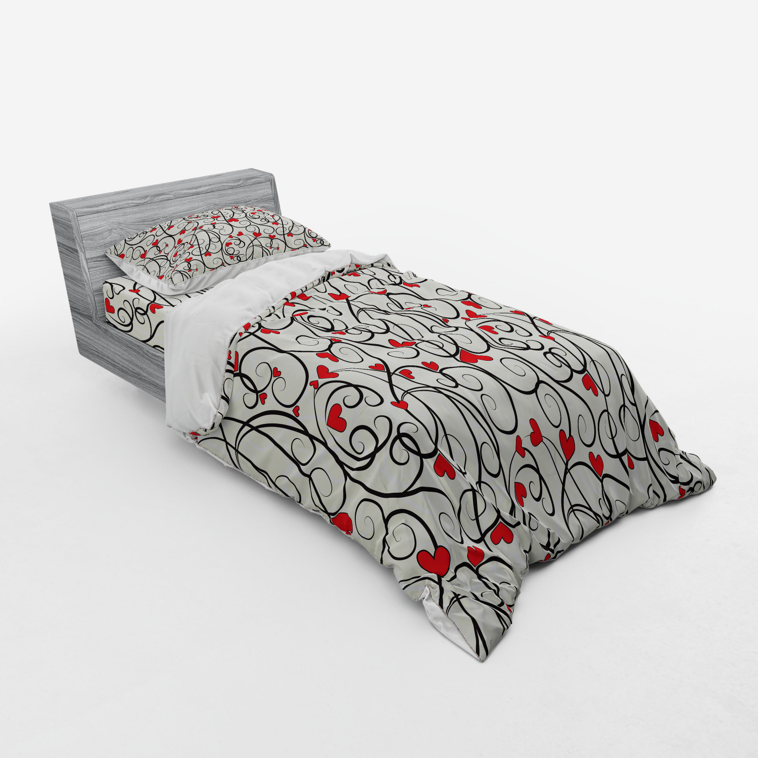 thumbnail 225 - Ambesonne Summer Bedding Set Duvet Cover Sham Fitted Sheet in 3 Sizes
