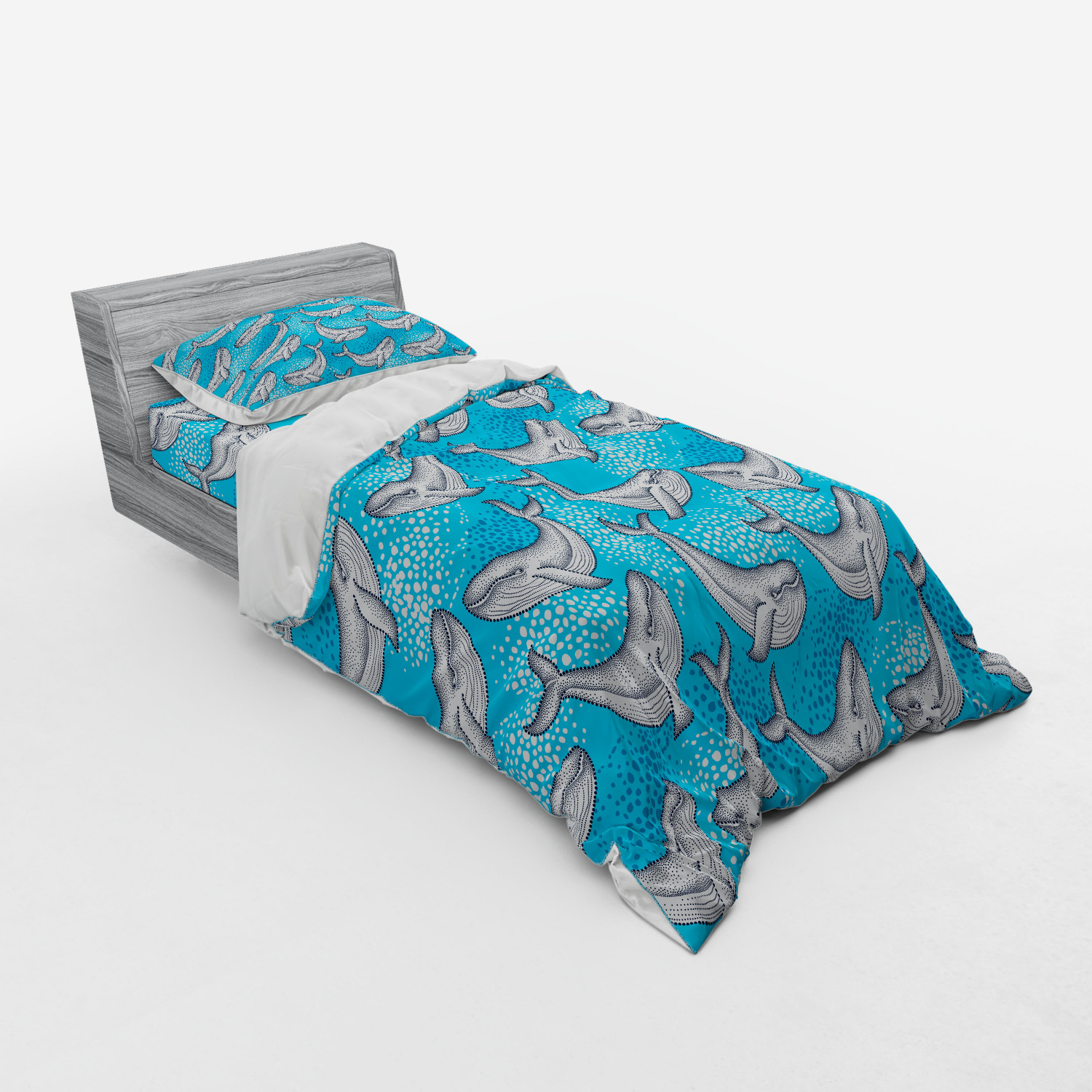 thumbnail 61 - Ambesonne Summer Bedding Set Duvet Cover Sham Fitted Sheet in 3 Sizes