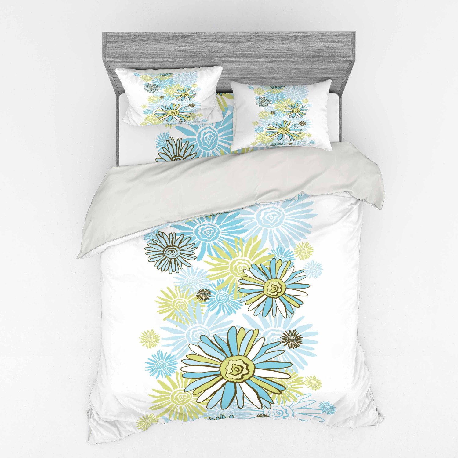 thumbnail 38 - Ambesonne Summer Bedding Set Duvet Cover Sham Fitted Sheet in 3 Sizes