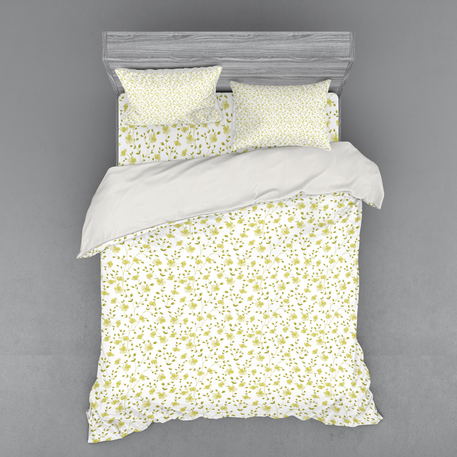 thumbnail 74 - Ambesonne Summer Bedding Set Duvet Cover Sham Fitted Sheet in 3 Sizes