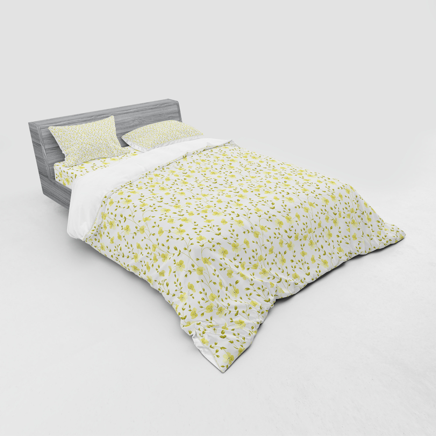 thumbnail 75 - Ambesonne Summer Bedding Set Duvet Cover Sham Fitted Sheet in 3 Sizes