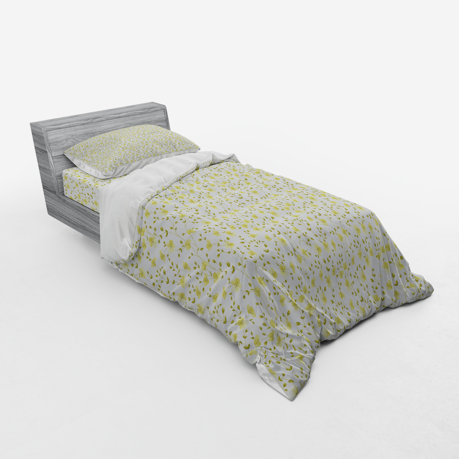 thumbnail 73 - Ambesonne Summer Bedding Set Duvet Cover Sham Fitted Sheet in 3 Sizes