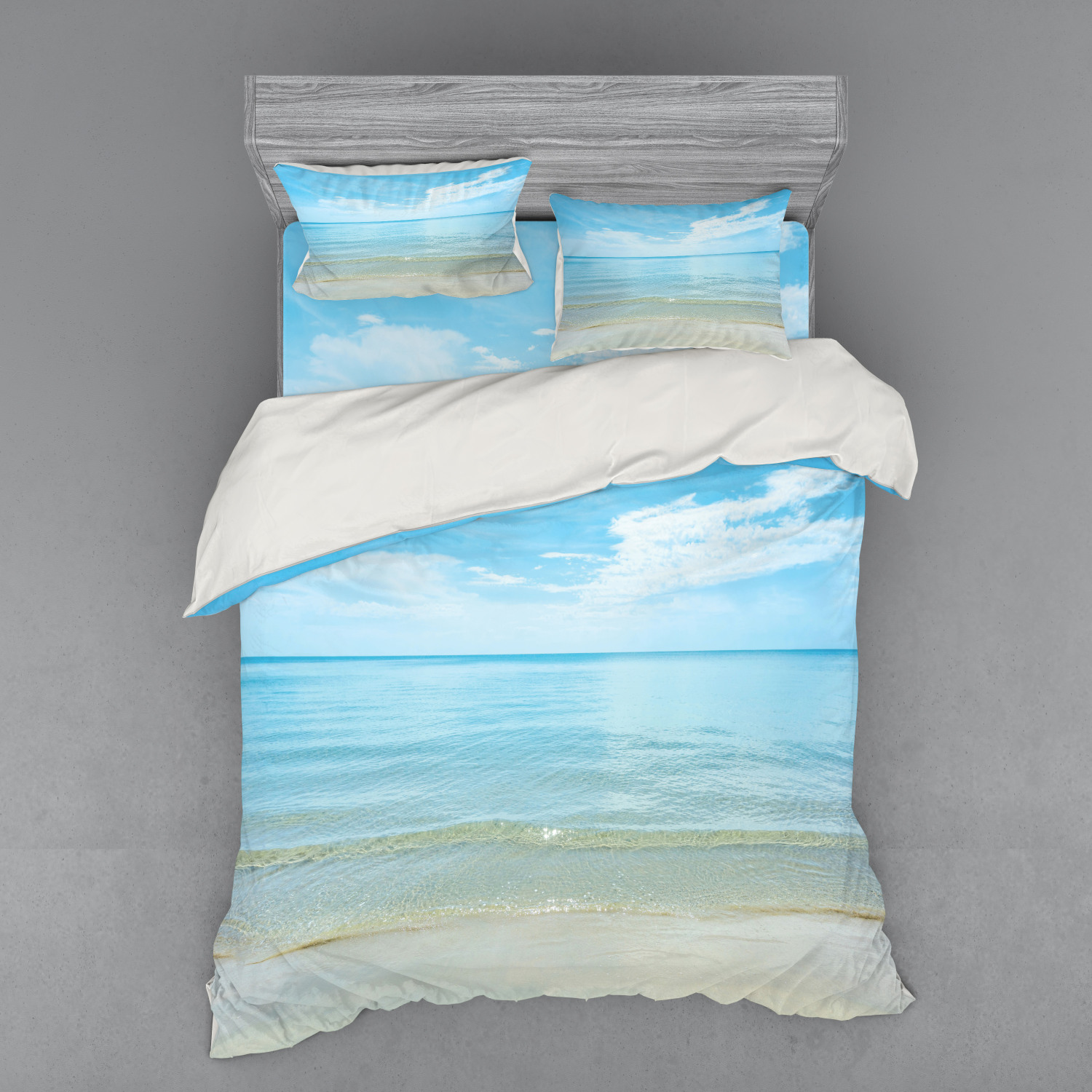 thumbnail 174 - Ambesonne Summer Bedding Set Duvet Cover Sham Fitted Sheet in 3 Sizes