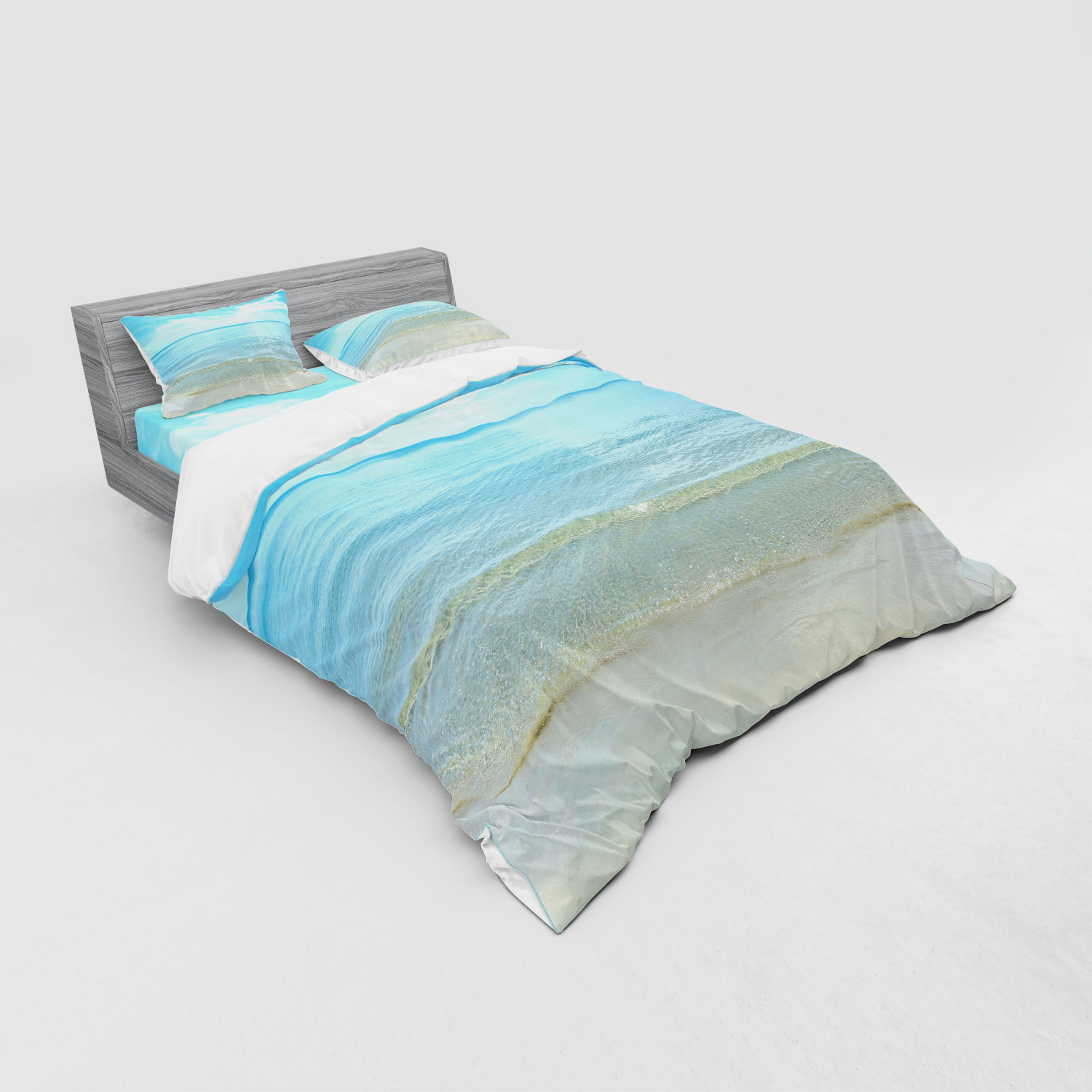 thumbnail 175 - Ambesonne Summer Bedding Set Duvet Cover Sham Fitted Sheet in 3 Sizes