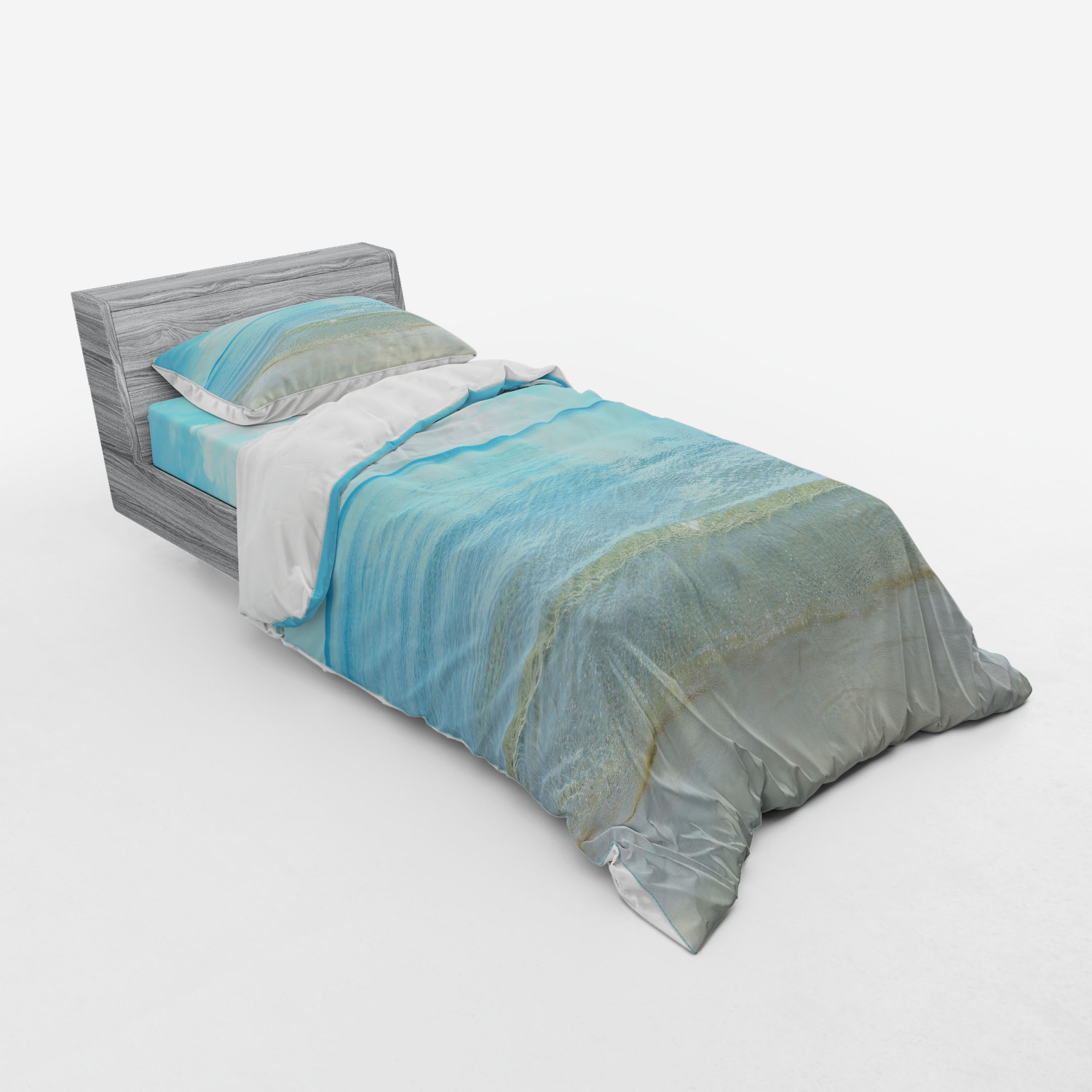 thumbnail 173 - Ambesonne Summer Bedding Set Duvet Cover Sham Fitted Sheet in 3 Sizes