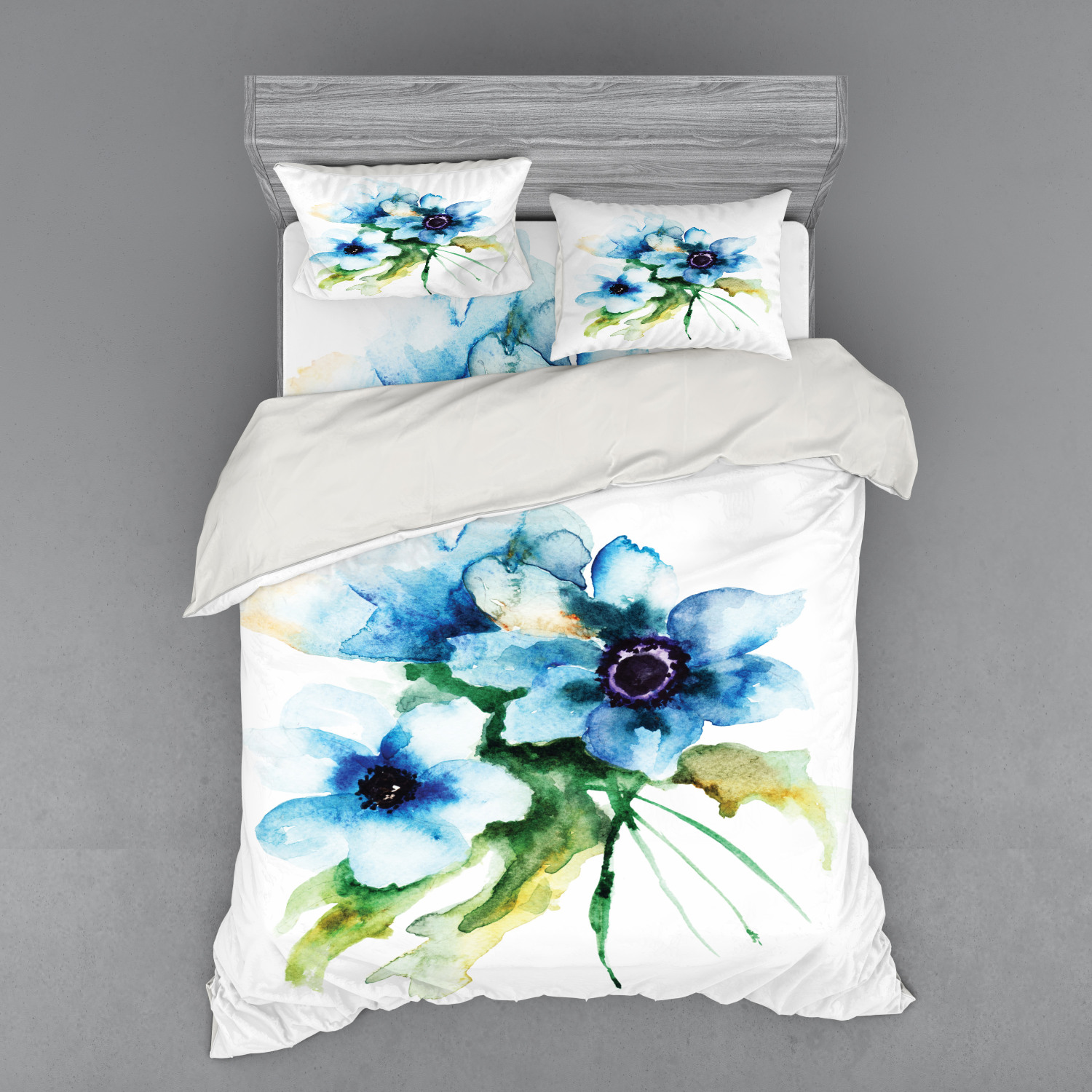thumbnail 122 - Ambesonne Summer Bedding Set Duvet Cover Sham Fitted Sheet in 3 Sizes