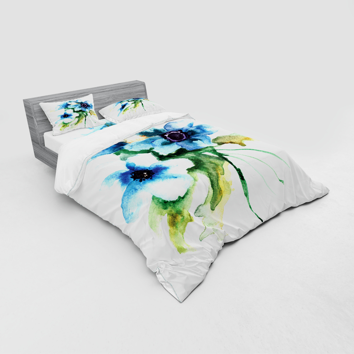 thumbnail 123 - Ambesonne Summer Bedding Set Duvet Cover Sham Fitted Sheet in 3 Sizes