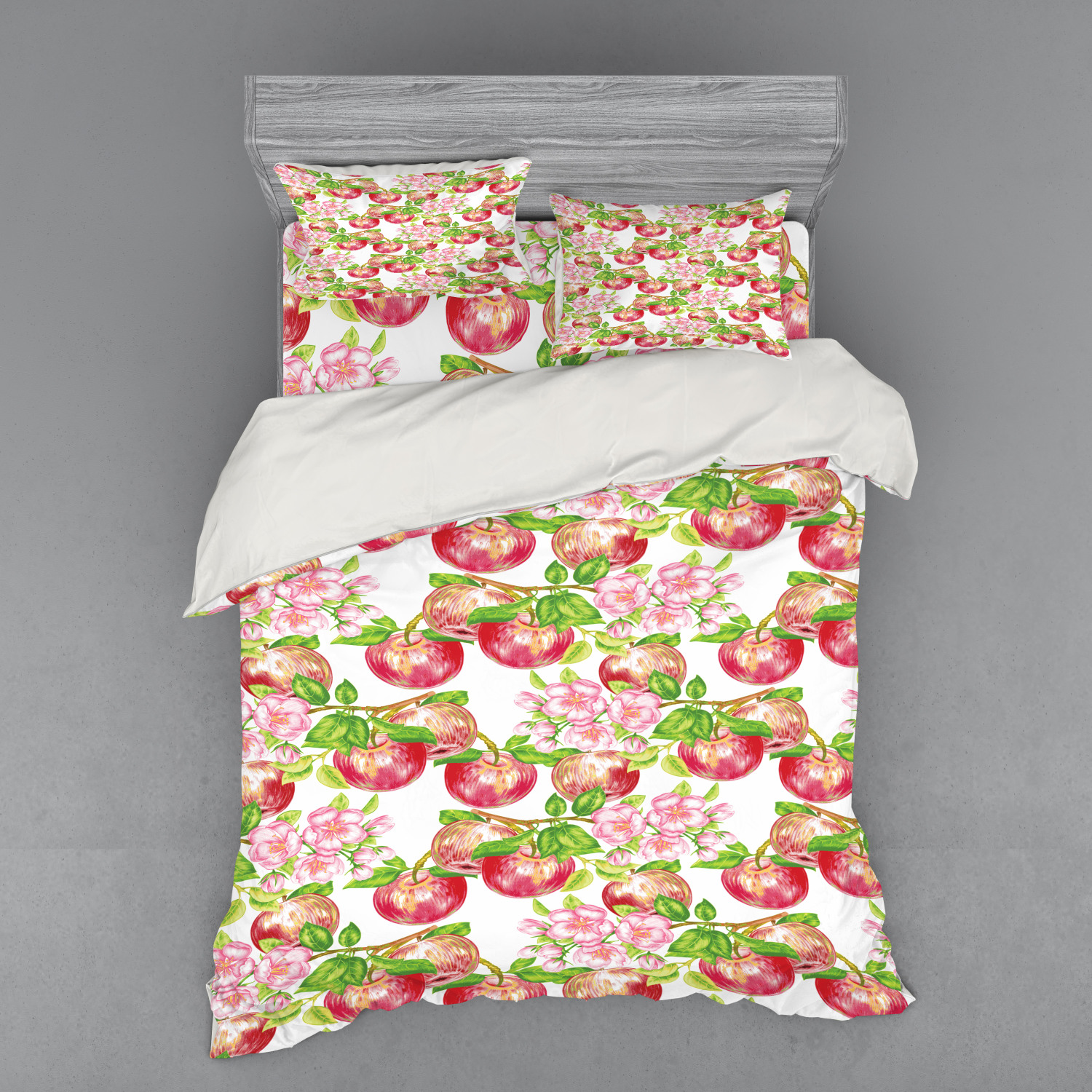thumbnail 118 - Ambesonne Summer Bedding Set Duvet Cover Sham Fitted Sheet in 3 Sizes