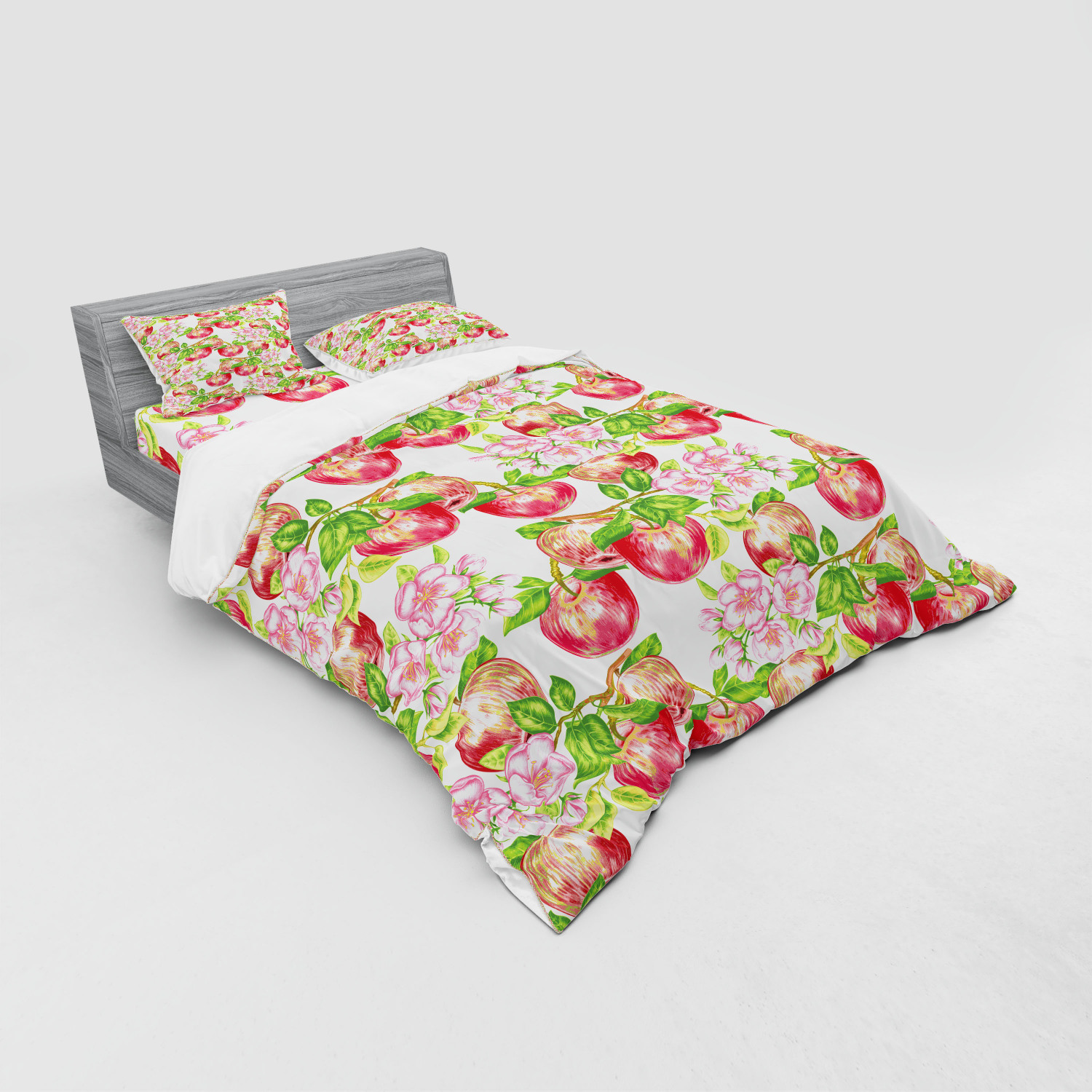 thumbnail 119 - Ambesonne Summer Bedding Set Duvet Cover Sham Fitted Sheet in 3 Sizes