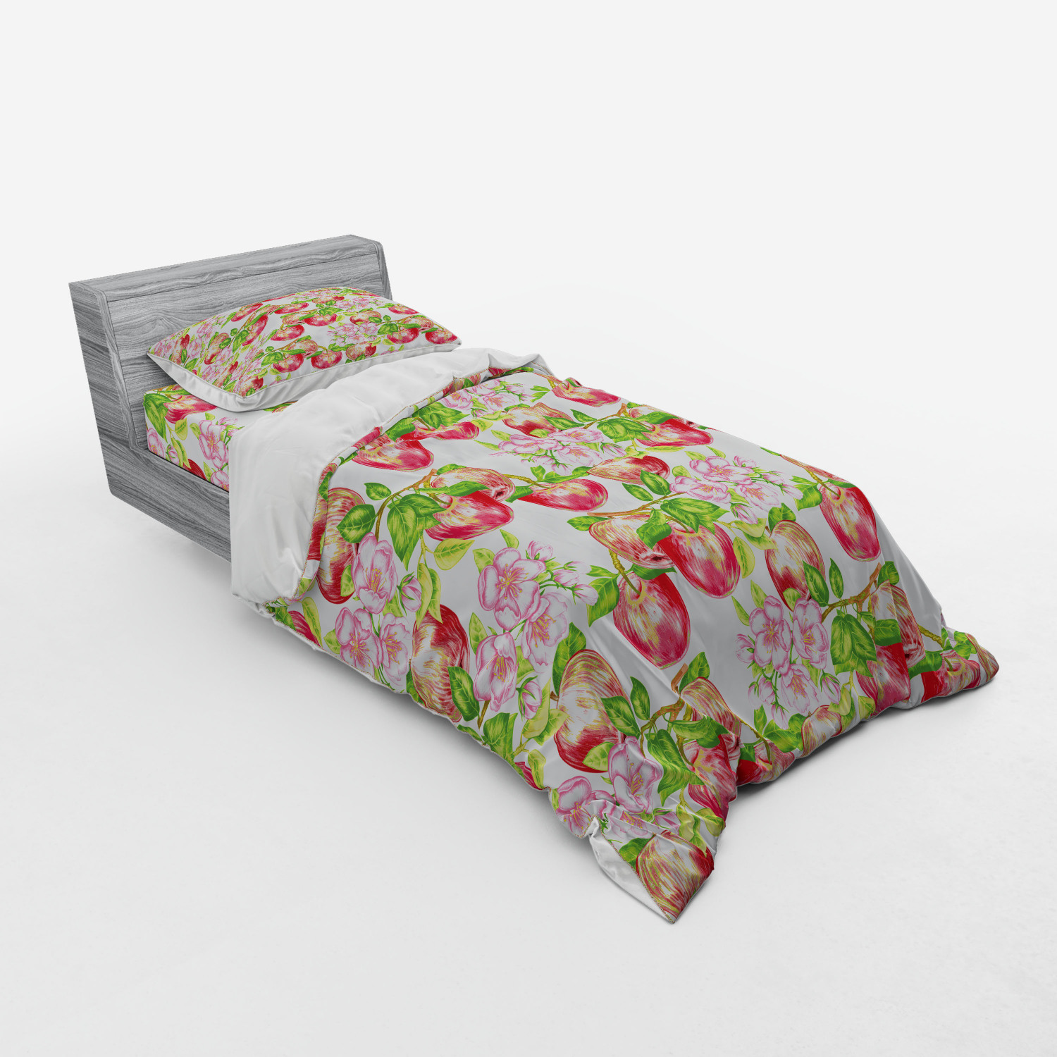 thumbnail 117 - Ambesonne Summer Bedding Set Duvet Cover Sham Fitted Sheet in 3 Sizes