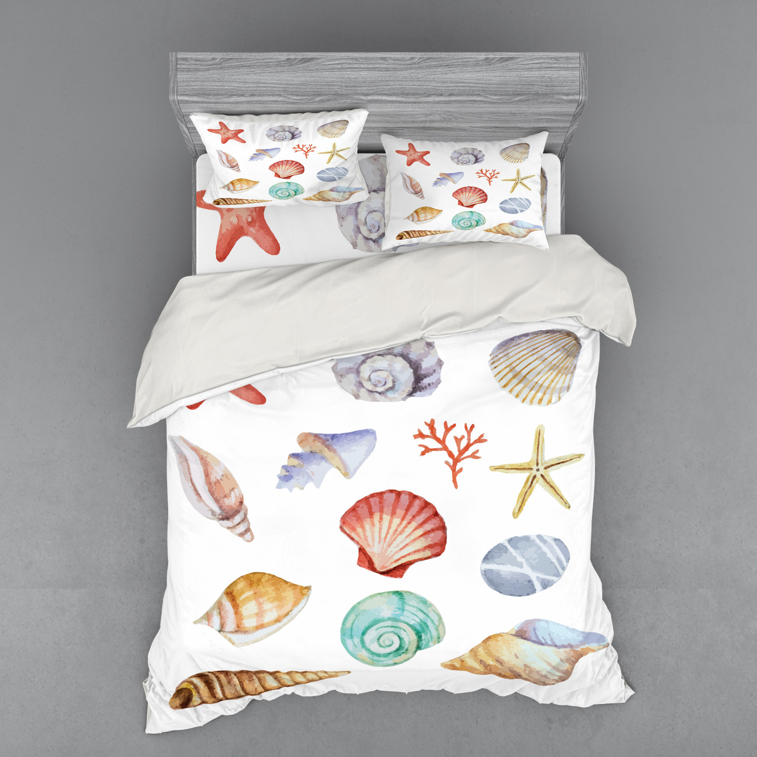 thumbnail 182 - Ambesonne Summer Bedding Set Duvet Cover Sham Fitted Sheet in 3 Sizes