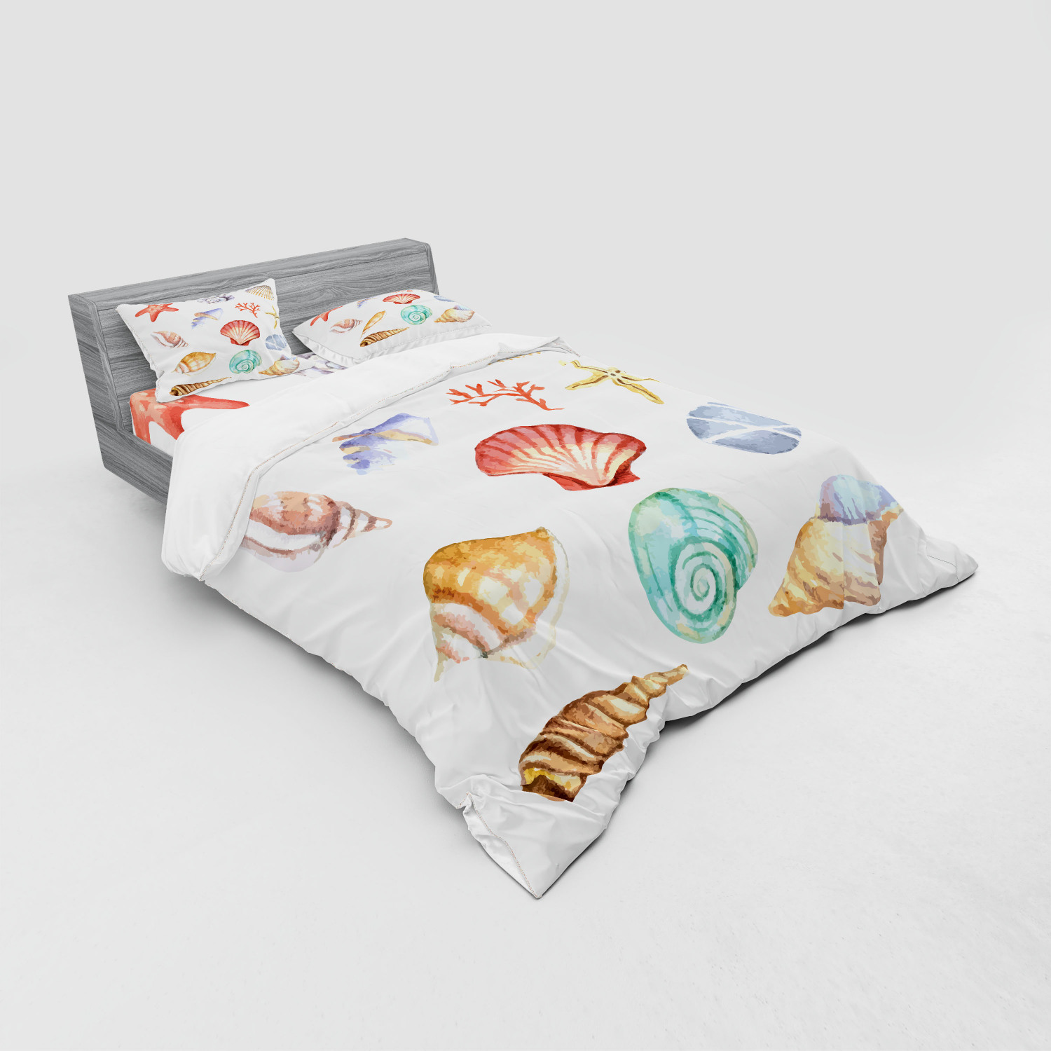 thumbnail 183 - Ambesonne Summer Bedding Set Duvet Cover Sham Fitted Sheet in 3 Sizes
