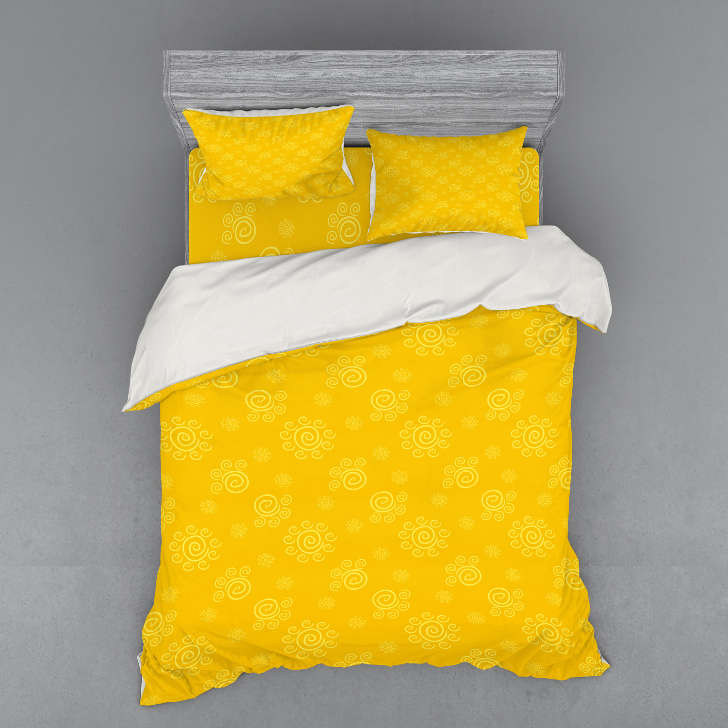 thumbnail 198 - Ambesonne Summer Bedding Set Duvet Cover Sham Fitted Sheet in 3 Sizes