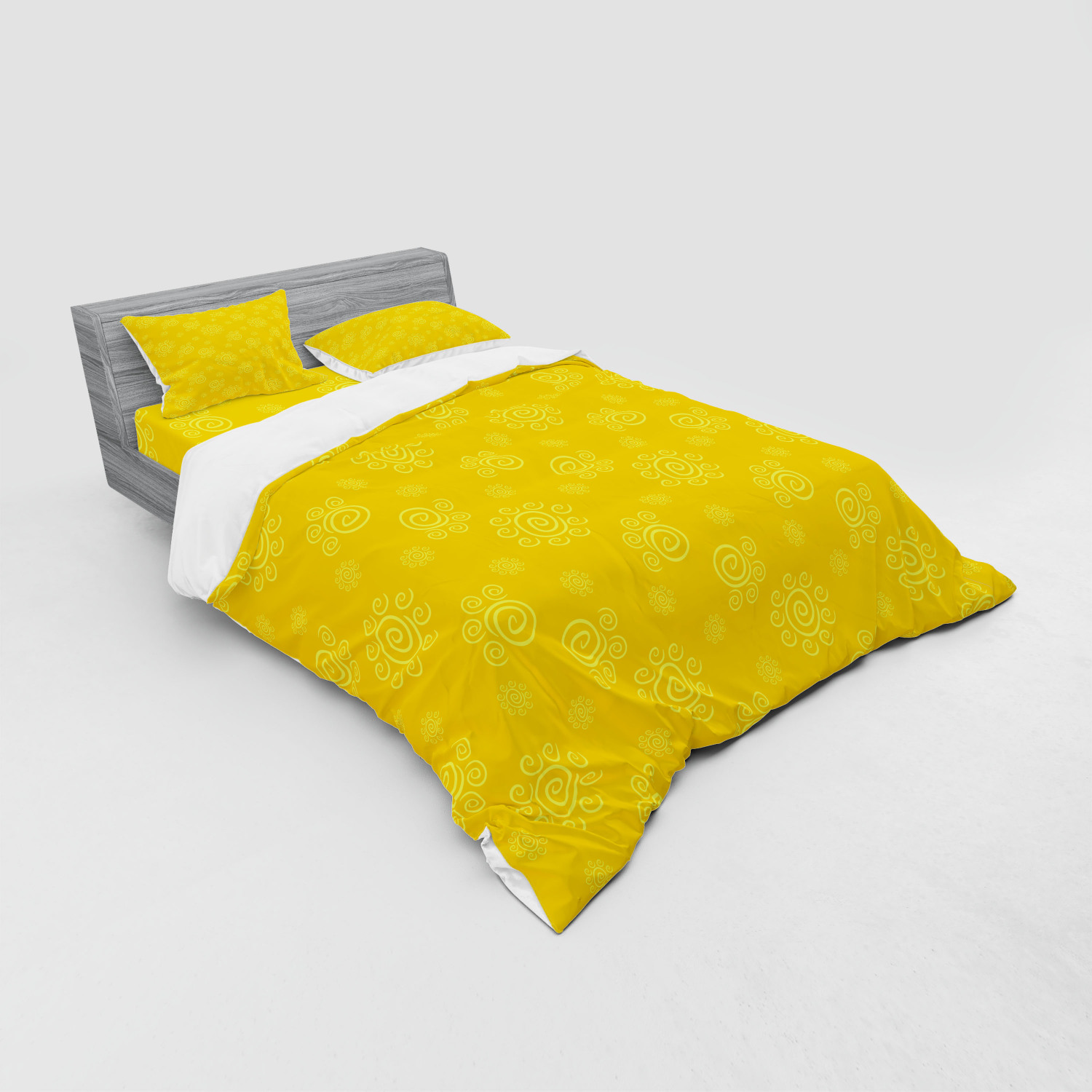 thumbnail 199 - Ambesonne Summer Bedding Set Duvet Cover Sham Fitted Sheet in 3 Sizes