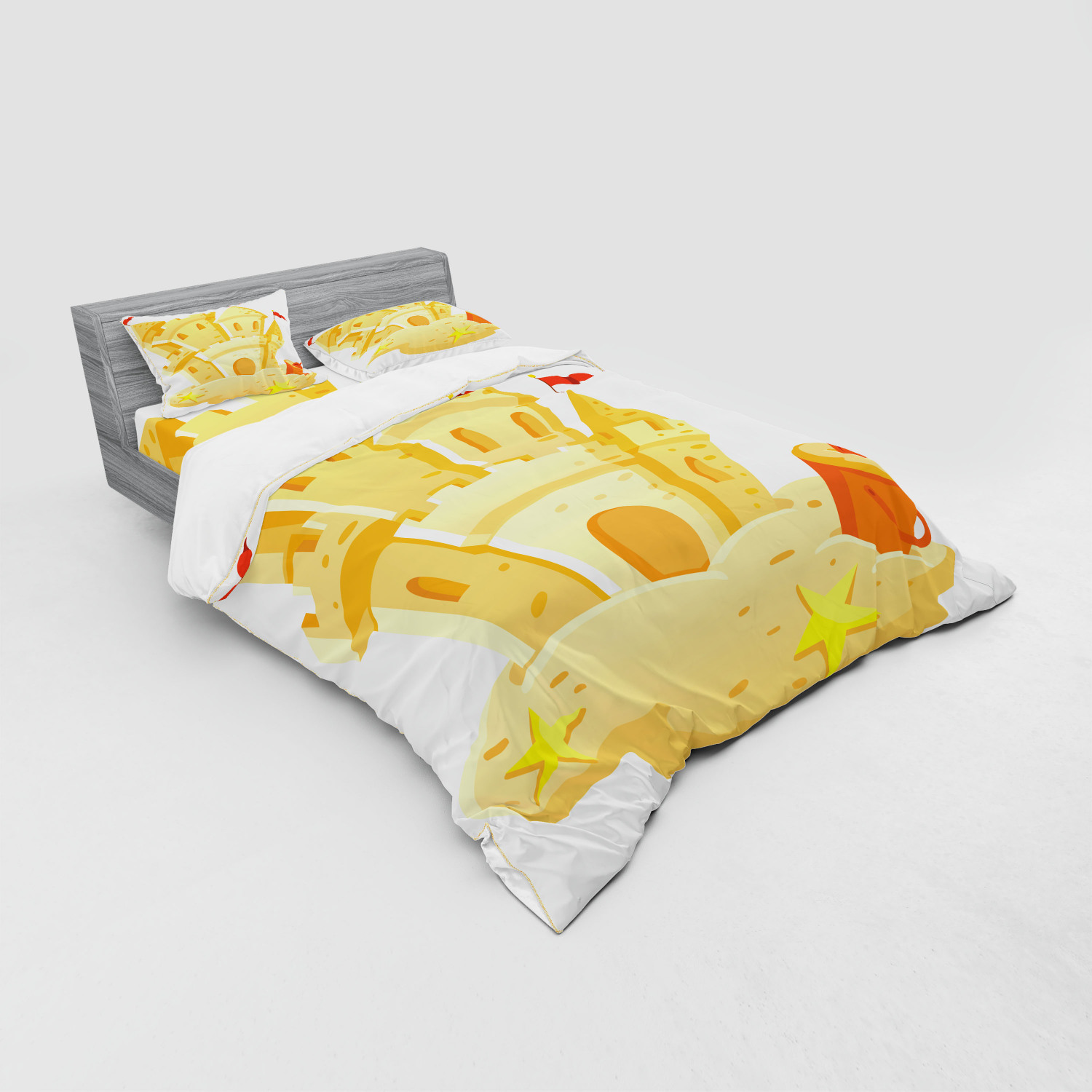 thumbnail 167 - Ambesonne Summer Bedding Set Duvet Cover Sham Fitted Sheet in 3 Sizes