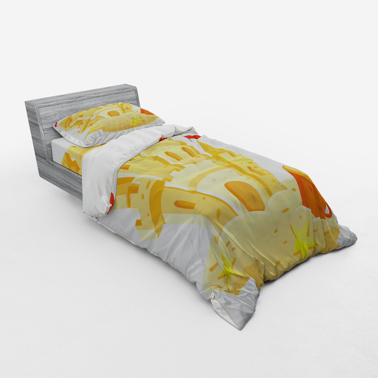thumbnail 165 - Ambesonne Summer Bedding Set Duvet Cover Sham Fitted Sheet in 3 Sizes