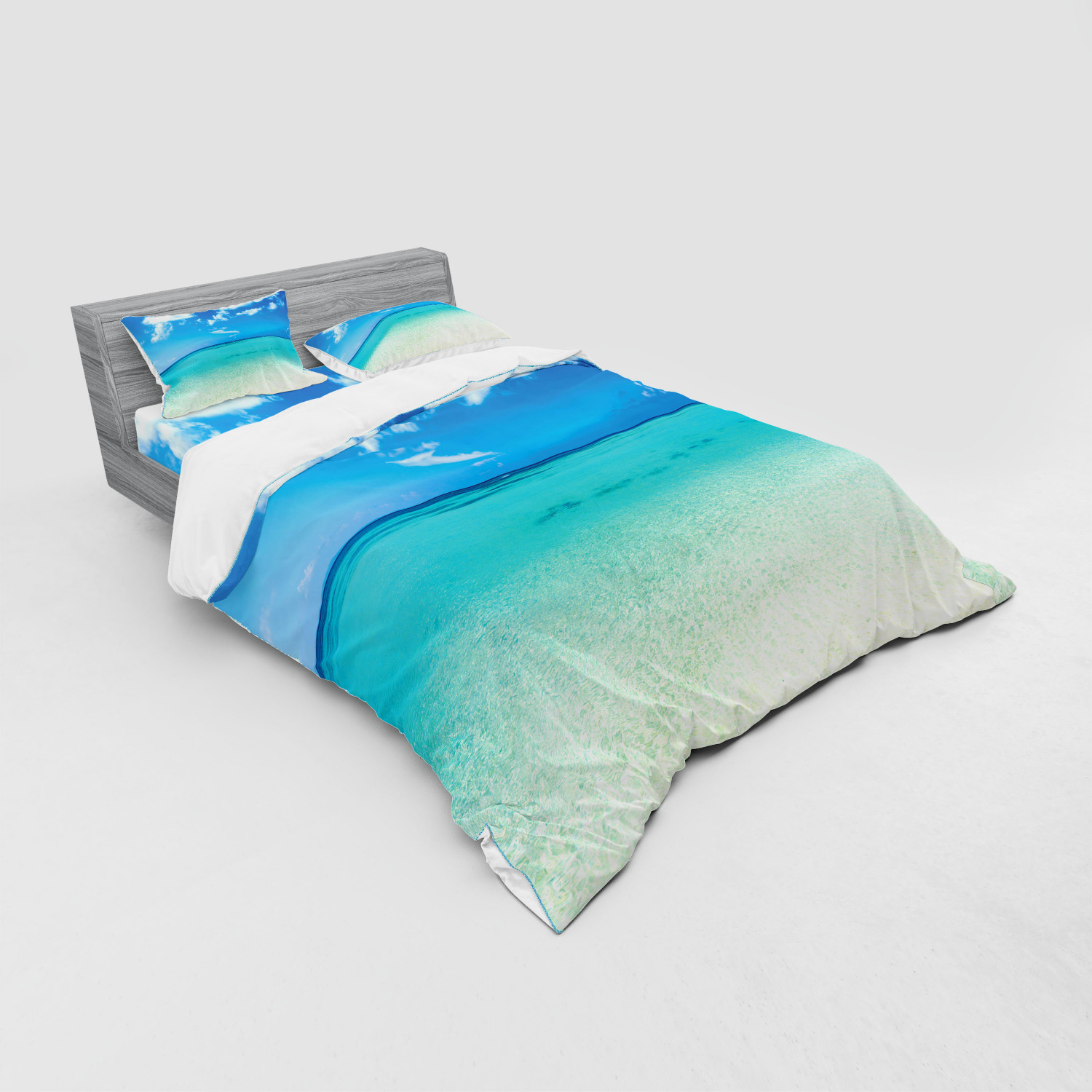 thumbnail 127 - Ambesonne Summer Bedding Set Duvet Cover Sham Fitted Sheet in 3 Sizes