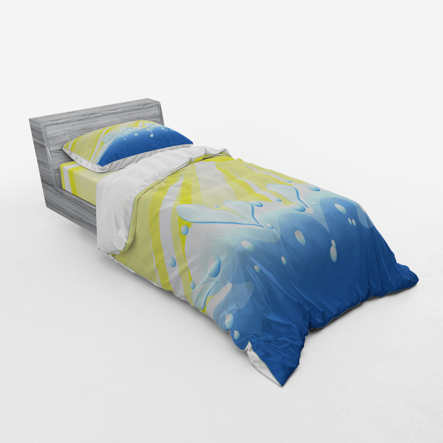 thumbnail 217 - Ambesonne Summer Bedding Set Duvet Cover Sham Fitted Sheet in 3 Sizes