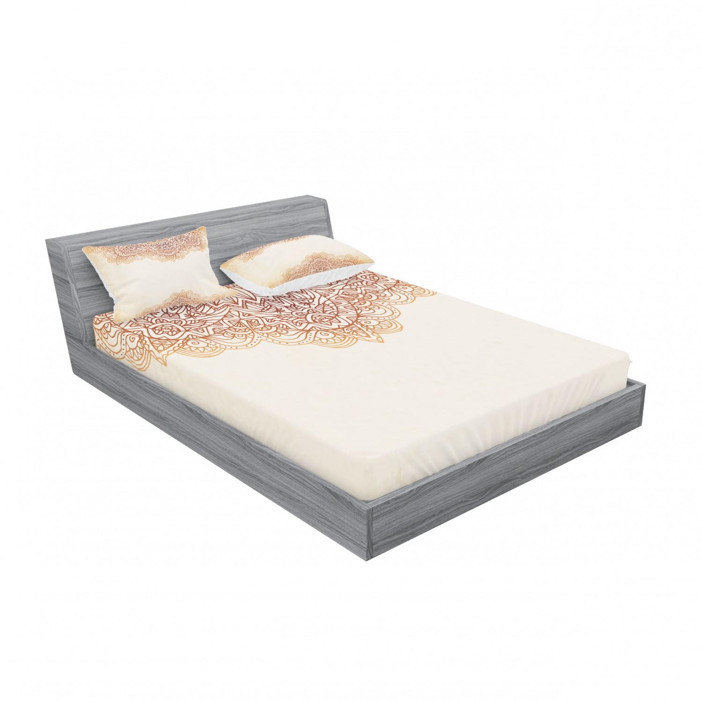 thumbnail 151 - Ambesonne-Mandala-Fitted-Sheet-Pillow-Sham-Set-Bedding-Decor-in-4-Sizes