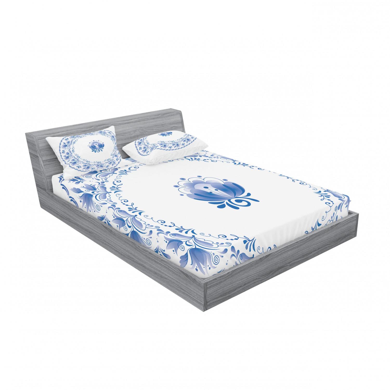 thumbnail 187 - Ambesonne-Mandala-Fitted-Sheet-Pillow-Sham-Set-Bedding-Decor-in-4-Sizes