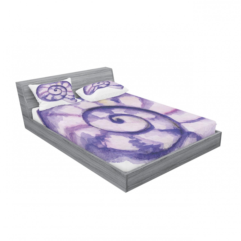 thumbnail 175 - Ambesonne Modern Design Fitted Sheet Pillow Sham Set Bedding Decor in 4 Sizes