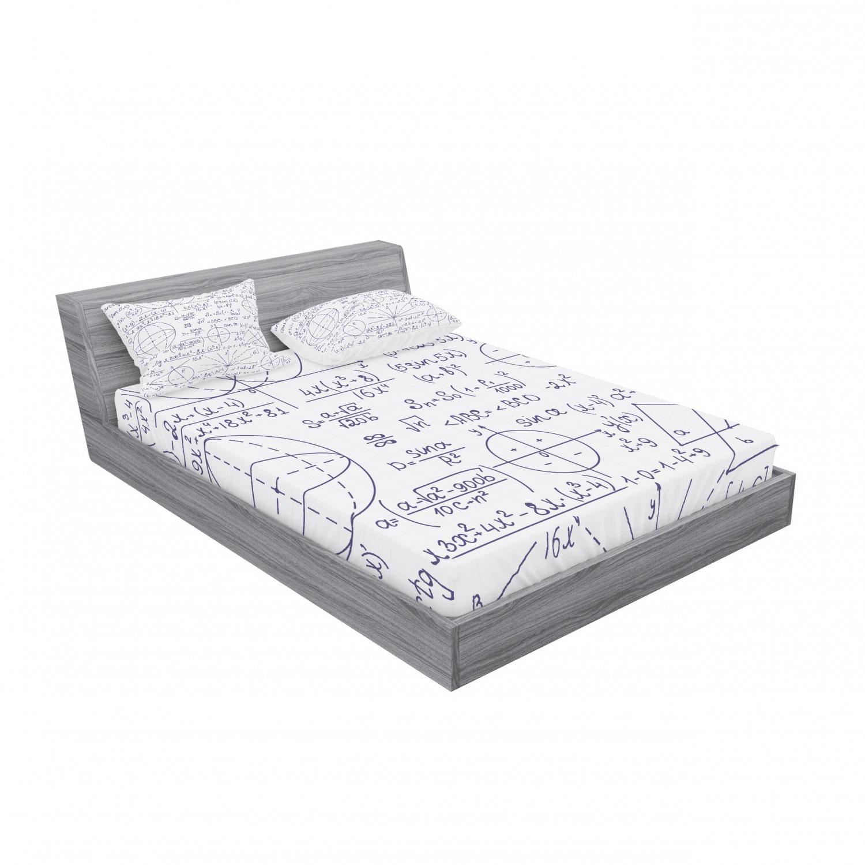 thumbnail 199 - Ambesonne Modern Design Fitted Sheet Pillow Sham Set Bedding Decor in 4 Sizes