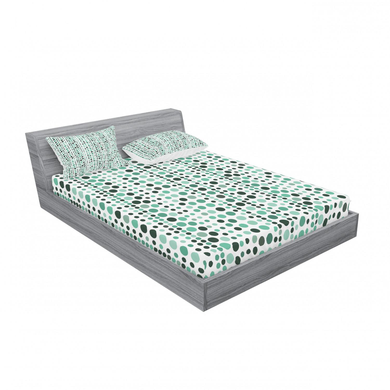 thumbnail 91 - Ambesonne Modern Design Fitted Sheet Pillow Sham Set Bedding Decor in 4 Sizes